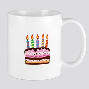 Birthday Cake Food Dessert Mugs