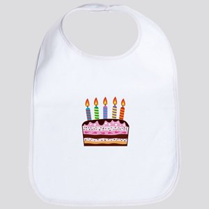 Birthday Cake Food Dessert Bib