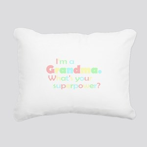 Im a Grandma Rectangular Canvas Pillow