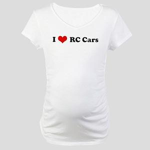 I Love RC Cars Maternity T-Shirt