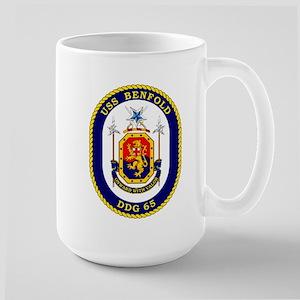 USS Benfold DDG 65 Large Mug