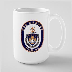 USS Carney DDG 64 Large Mug