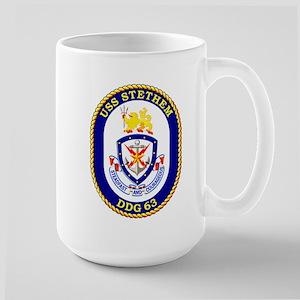 DDG-63 USS Stethem Large Mug