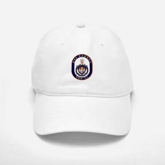 USS Carney DDG 64 Baseball Baseball Cap