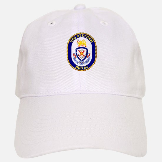 USS Stethem DDG 63 Baseball Baseball Cap