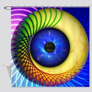 Psychedelic Eye Shower Curtain
