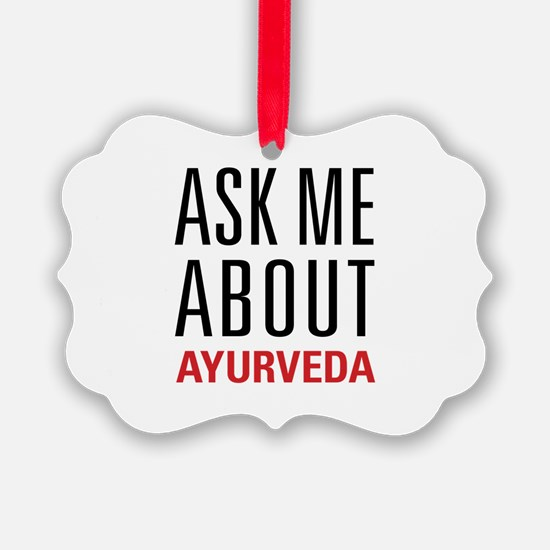 Ayurveda - Ask Me About Ornament