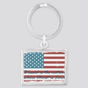 Blessed Nation Keychains