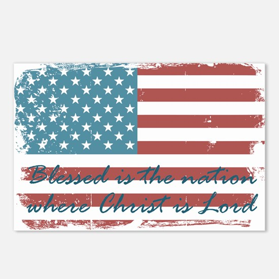 Blessed Nation Postcards (Package of 8)