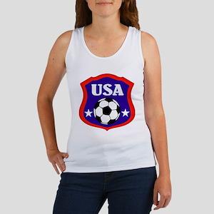 USA Soccer Emblem Tank Top