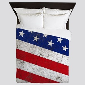 stars and stripes Queen Duvet