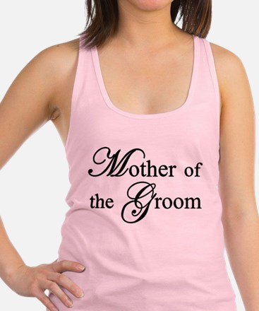 Mother of the Groom Racerback Tank Top