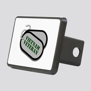 Vietnam Dog Tags Hitch Cover