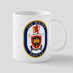 DDG 69 USS Milius Mug