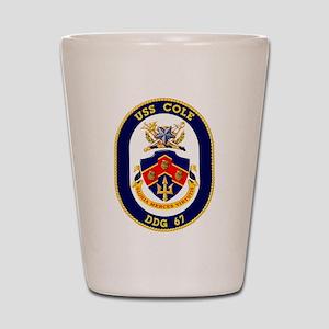 DDG 67 USS Cole Shot Glass