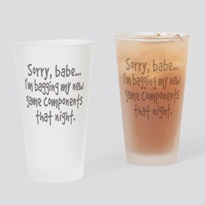 Game Components Drinking Glass
