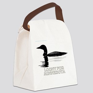 Loons Canvas Lunch Bag