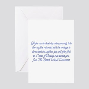 Ocean of Beauty Greeting Cards
