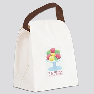 The French Macroon Canvas Lunch Bag