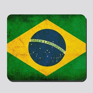 Brazil Flag Mousepad