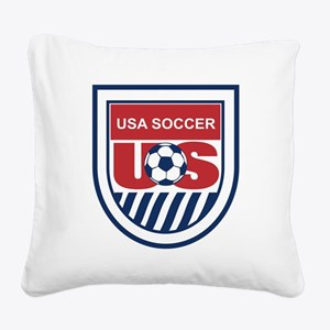 US SOCCER GEAR: Square Canvas Pillow