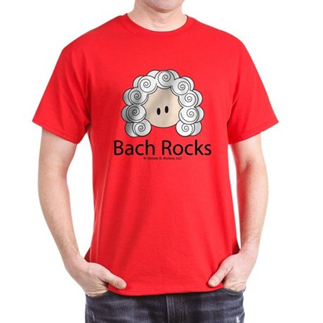 Bach Rocks Bach Dark T-Shirt