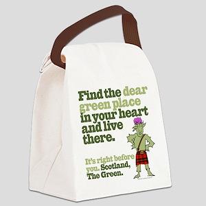 Dear Canvas Lunch Bag
