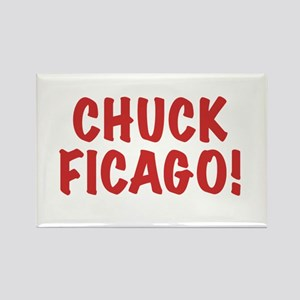 Chuck Ficago! Rectangle Magnet