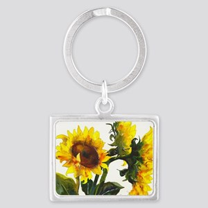 Here Comes the Sun! Landscape Keychain