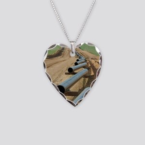 pipeline Necklace Heart Charm