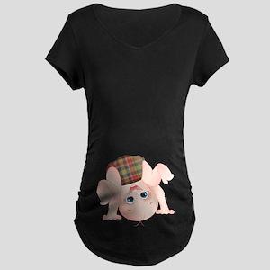 Hunter Baby Maternity Dark T-Shirt
