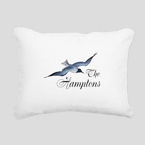 The Hamptons Rectangular Canvas Pillow