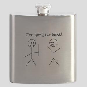 I've Got You Back Flask
