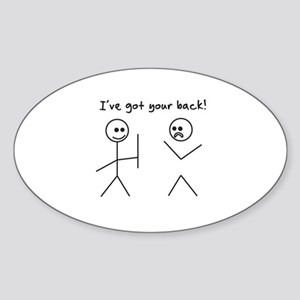 I've Got You Back Sticker