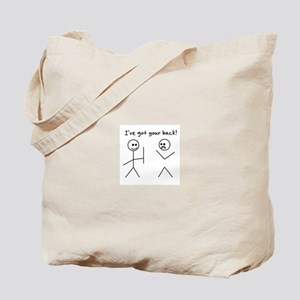 I've Got You Back Tote Bag