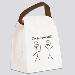 I've Got You Back Canvas Lunch Bag