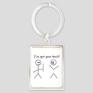 I've Got You Back Keychains