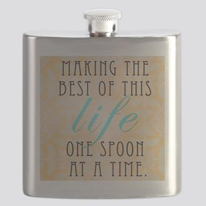 One Spoon At A time Flask