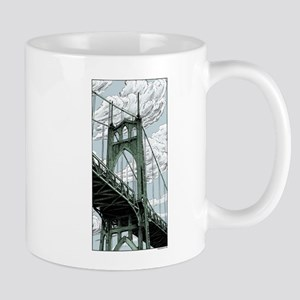 St. Johns Bridge Mugs