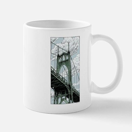 St. Johns Bridge Mugs