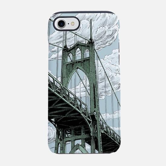 St. Johns Bridge iPhone 7 Tough Case