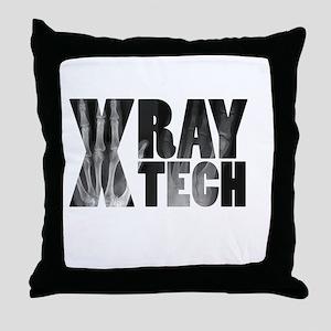 xray tech Throw Pillow