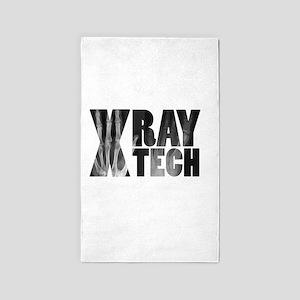 xray tech 3'x5' Area Rug