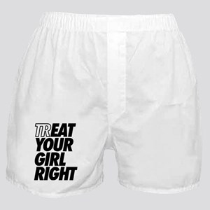 Treat Eat Your Girl Right Boxer Shorts