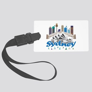 Sydney Skyline Luggage Tag