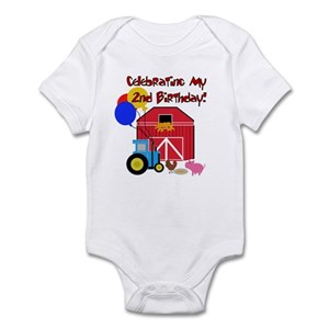 Tractor Birthday Baby Clothes Accessories