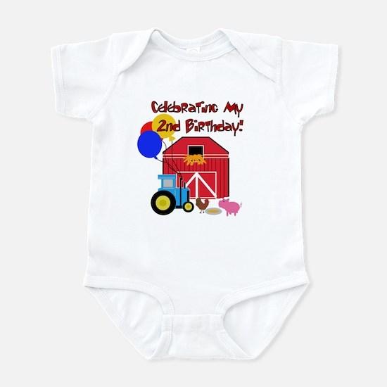 Farm 2nd Birthday Infant Creeper