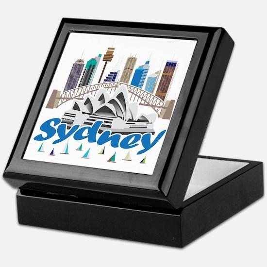 Sydney Skyline Keepsake Box