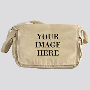 Your Photo Here by Leslie Harlow Messenger Bag