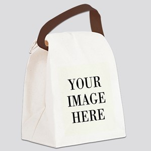 Your Photo Here by Leslie Harlow Canvas Lunch Bag
